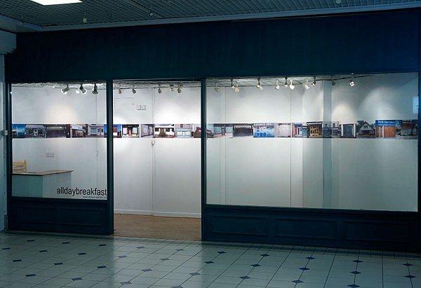 Empty shops installation