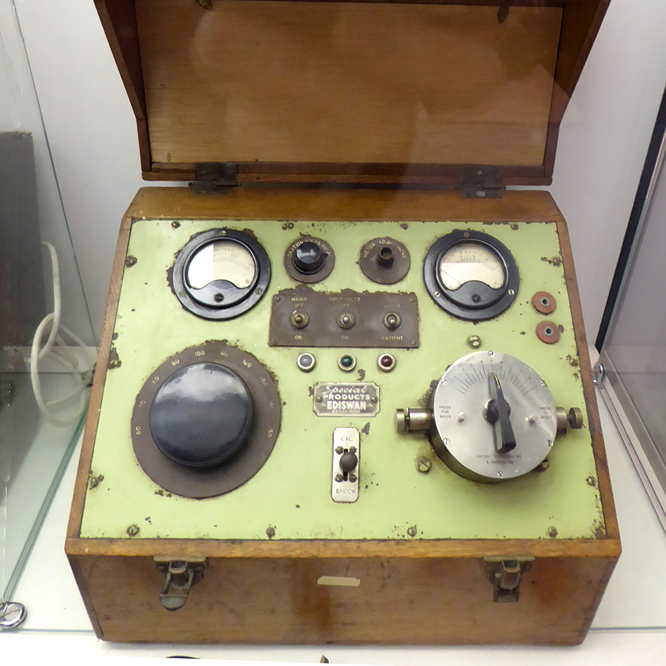 An Electro-convulsive therapy machine